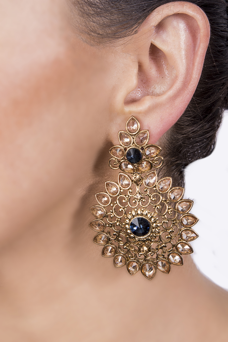 ff0c8c25adac9 Sunflower earrings - Chohan's Jewellery